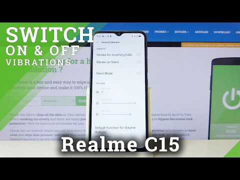How to Change Vibration Settings in REALME C15 – Find Vibration Options