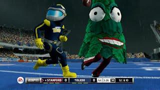 Download Christmas Trees vs MegaMans!? NCAA Football 14 Mascot Mode Video