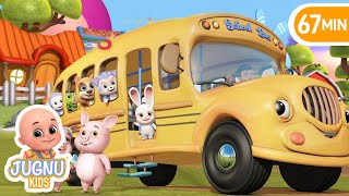 Download The Wheels On The Bus - Learn English with Songs for Children by Jugnu Kids Video