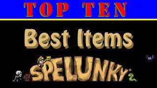 Download Top 10 Best Spelunky Items Video