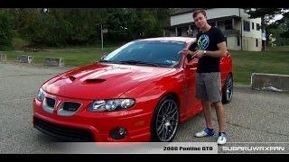 Download Review: Modified 2006 Pontiac GTO Video