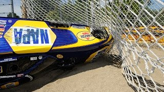 Download NHRA Funny Car driver Ron Capps hits the sand #ChevroletPerfUSNats Video