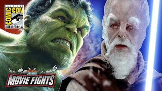 Download What Wins: The Force vs The Hulk - MOVIE FIGHTS! Live from Comic-Con 2017 Video