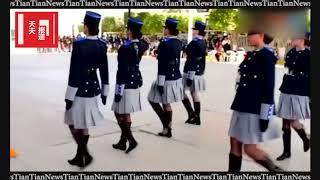 Download 秘鲁女兵的正步是世界上最富有魔性的, 你能模仿的出他们吗 Video
