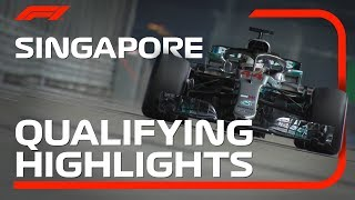 Download 2018 Singapore Grand Prix: Qualifying Highlights Video