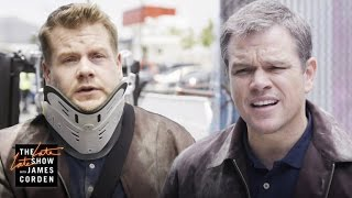Download 'Jason Bourne' Stunt Double w/ Matt Damon Video
