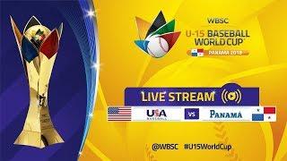 Download USA v Panama - U-15 Baseball World Cup 2018 Video