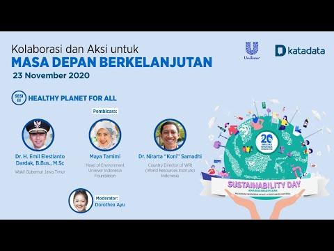Sesi 3 Unilever Katadata: Sustainability Day 2020