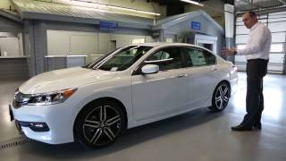 Download 2017 Honda Accord Sport Walk-Around & Review | Brilliance Honda Video