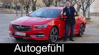 Download Opel Insignia Grand Sport FULL REVIEW Vauxhall + sneak preview Sports Tourer Insignia B Video