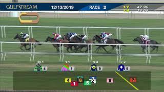Download Gulfstream Park December 13, 2019 Race 2 Video
