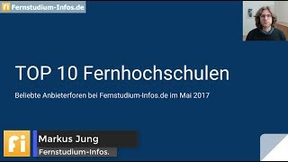 Download Fernstudium TOP 10 - Mai 2017 Video