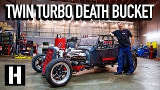 Download How is This Street Legal?? Bad Daddy Braddy's 1000hp LS T-Bucket Video