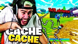 Download J'UTILISE LE GLITCH INVISIBLE EN PLEIN CACHE CACHE AVEC TK SUR FORTNITE !!! Video