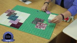 Download Quilting Quickly: Layer it Up - Single Quilt Block Batik Quilt Pattern Video
