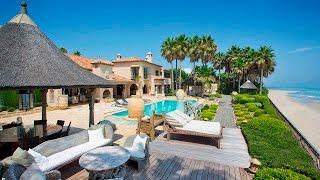 Download Luxury Frontline Beach Villa in Los Monteros Video