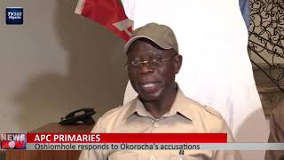 Download APC Primaries: Oshiomhole responds to Okorocha's accusations Video