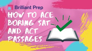 Download How to Ace Boring SAT/ACT Reading Passages Video