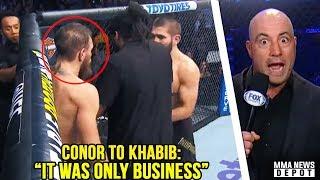 Download Conor McGregor apologized to Khabib mid fíght; Joe Rogan reacts to UFC 229; Dillon Danis vs RDA Video