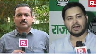 Download Tejashwi Yadav Speaks To Republic TV On Power Grab Plot | EXCLUSIVE Video
