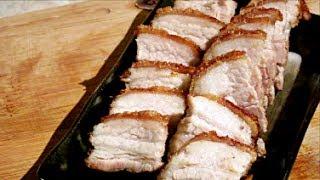 Download 如何製作脆皮燒肉 (How to make Chinese Roasted Pork) Video