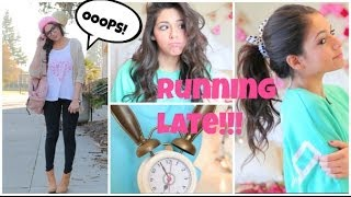 Download Running Late For School ⎜Quick Hair fixes, Makeup, & Outfit Ideas! Video