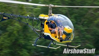 Download Ultralight Field - Helicopters and Autogyros - EAA AirVenture Oshkosh 2017 Video