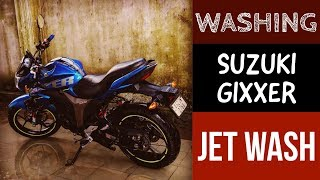 Download WASHING SUZUKI GIXXER | JET WASH | PRESSURE WASH | MOTO ADVENTURE Video