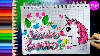 Download IDEAS PARA DECORAR SEGUNDO PERIODO-LETRA TIMOTEO-Cómo marcar cuadernos BONITOS-Yaye Video