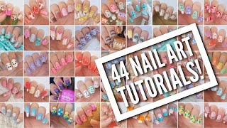 Download 44 Nail Art Tutorials! | Nail Art Design Compilation Video
