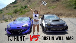 Download Supercharged BRZ vs. Turbo WRX Drag Race(Official Race Video) Video