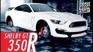 Download ″Wheels Off″ Wash & Drive With A Shelby GT350R Mustang | WASHWEDNESDAY Video