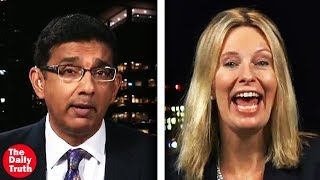 Download Pro-Abortonist Doesn't Know What She's Talking About In a Debate With Dinesh D'Souza Video