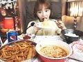 Download 맘스터치싸이버거세트,왕뚜껑컵라면 :슈기의 먹방 [Shoogi's Eating Show] mukbang Video