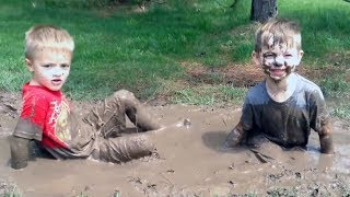 Download BE READY for a DOSE OF LAUGHING! - Funny Babies and Kids Stuck In The Mud Compilation Video