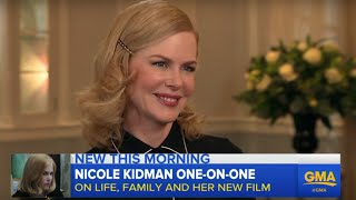 Download Nicole Kidman Talks New Film and Family Video