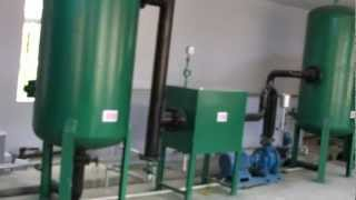 Download 100kw biomass gasification power plant, wood chips gasifier for 100KW genset, plastic waste gasifier Video