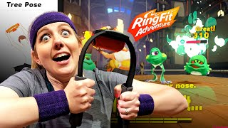 Download Nintendo's new Ring Fit Adventure kicked my butt Video