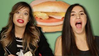 Download Vegetarians Try Veggie Fast Food Options Video