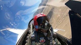 Download Female Thunderbird Pilot ″Mace″ • In-flight Cockpit Video Video