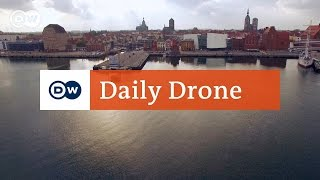 Download #DailyDrone: Ozeaneum, Stralsund Video