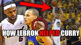 Download How LeBron James HELPED Stephen Curry Become An NBA Star (Ft. UNBELIEVABLE History & Trash Talk) Video