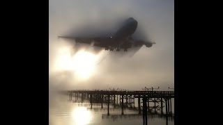 Download FOG - SMOKE TRAILS - VORTEX - Heavy Jets - Low Visibility Landing - Chicago O'Hare Plane Spotting. Video