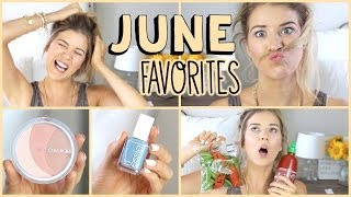 Download June Favorites: Fashion, Beauty, Food & MORE! Video