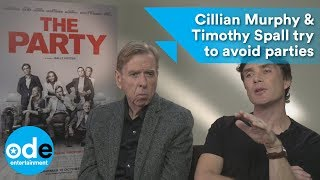 Download The Party: Cillian Murphy & Timothy Spall try to avoid parties Video