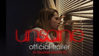 Download UNSANE | Official Trailer Video