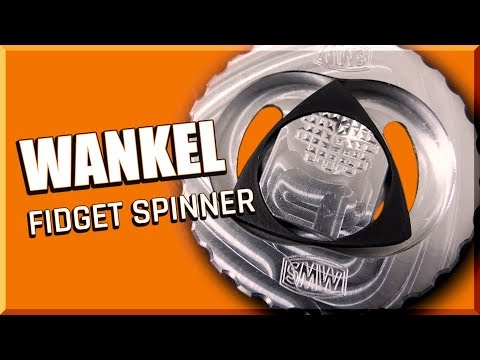 Wankel Engine Fidget Spinner | WW230