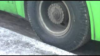 Download Moscow bus sliping Video