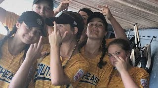 Download Girls Little League Softball Team DISQUALIFIED for Flipping the Bird Video