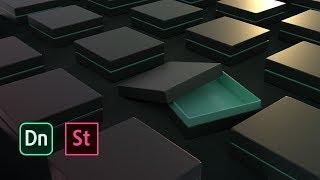 Download Packaging 3D pour les graphistes avec Dimension | Adobe France Video